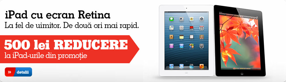 iPad 4 promotie