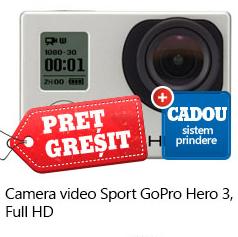 CAMERA VIDEO GOPRO HERO 3