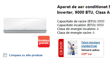 aparat aer conditionat inverter