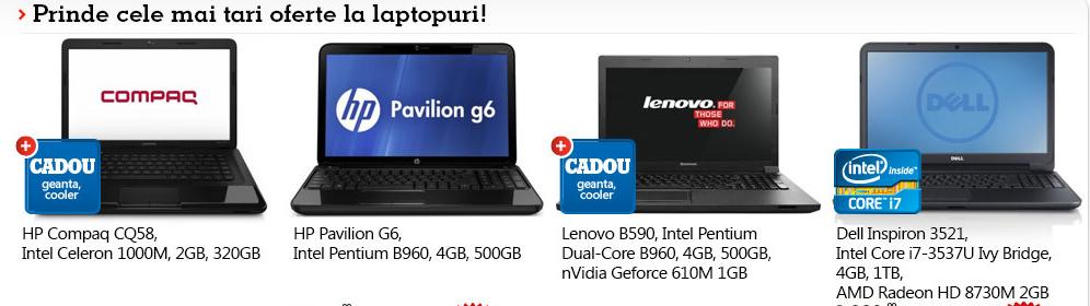 laptop-uri la oferta