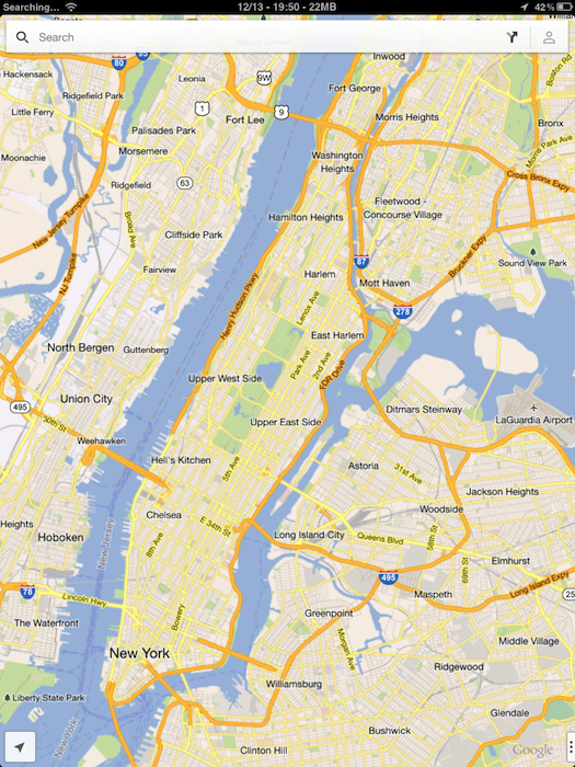 Google-Maps-on-iPad