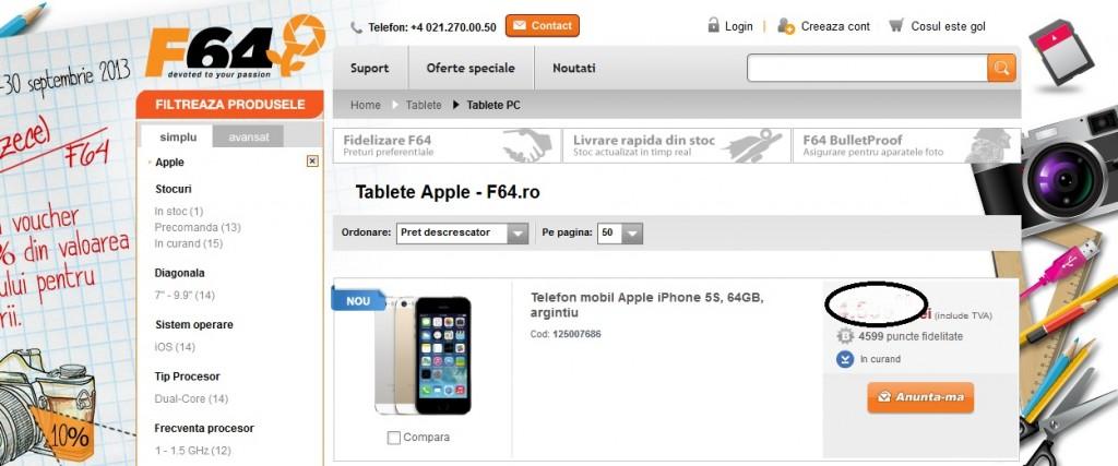 iphone 5s la f64